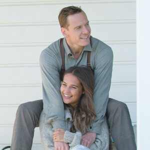 The Light Between Oceans, Alicia Vikander, Michael Fassbender