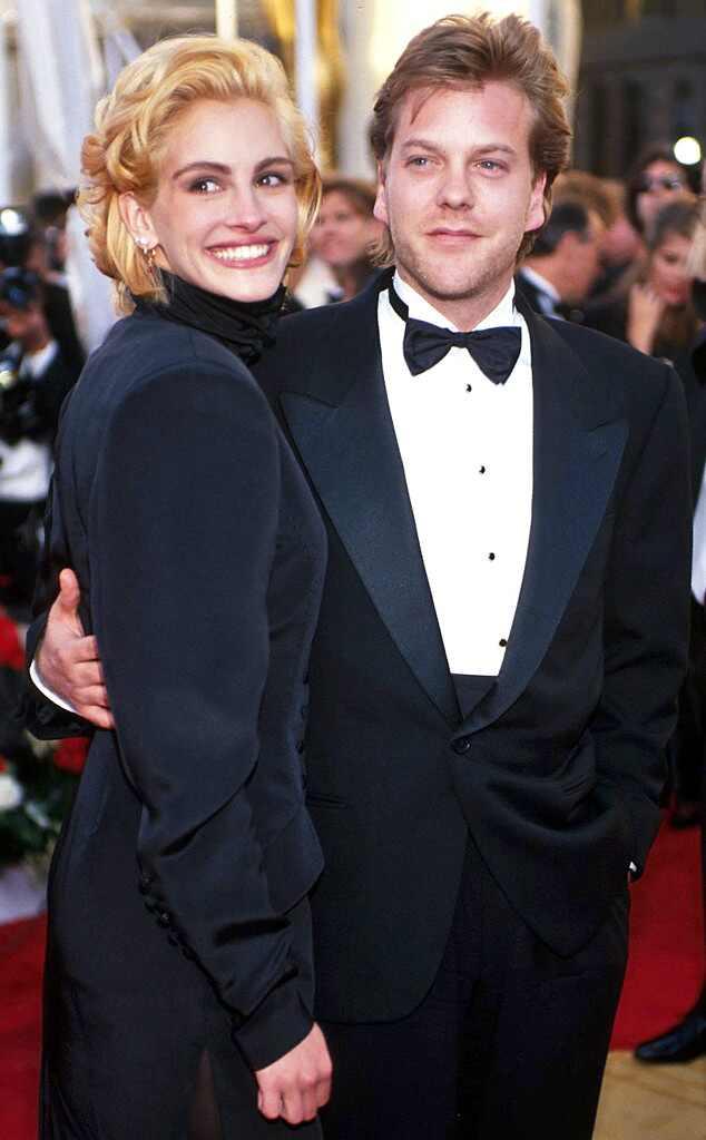 Oscar Couples, Julia Roberts, Kiefer Sutherland