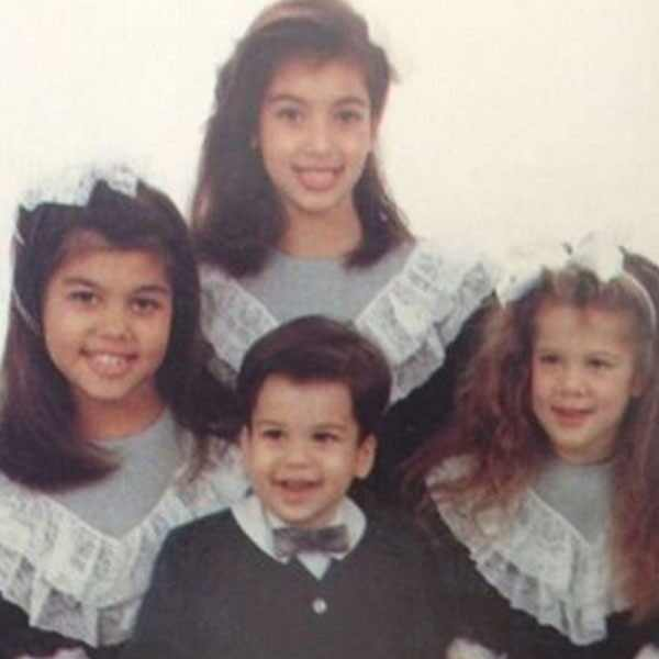 Kardashians as Kids, Instagram