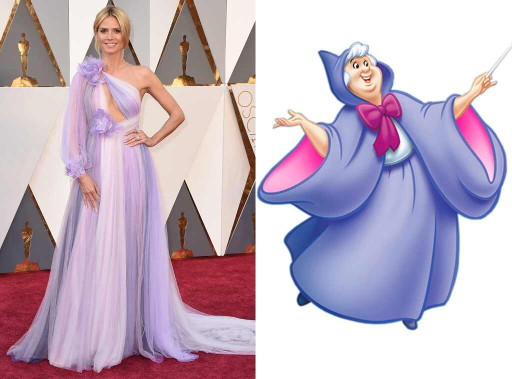 Heidi Klum, Fairy Godmother, 2016 Oscars, Academy Awards