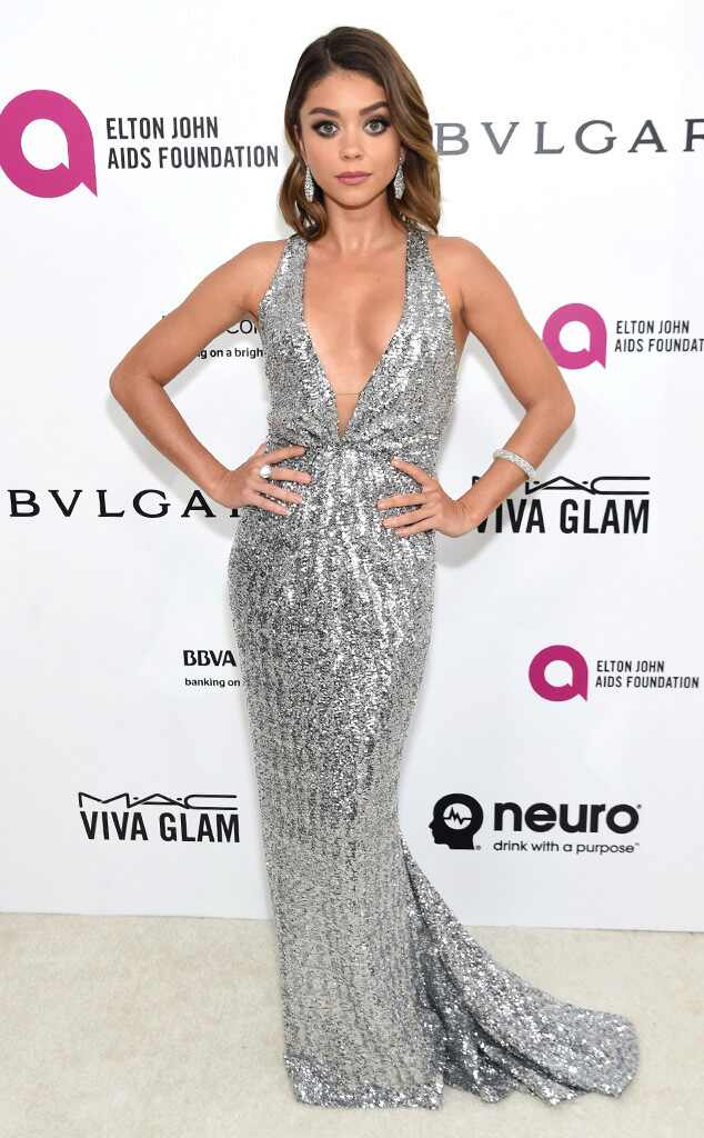 Elton John Oscars Party, Sarah Hyland
