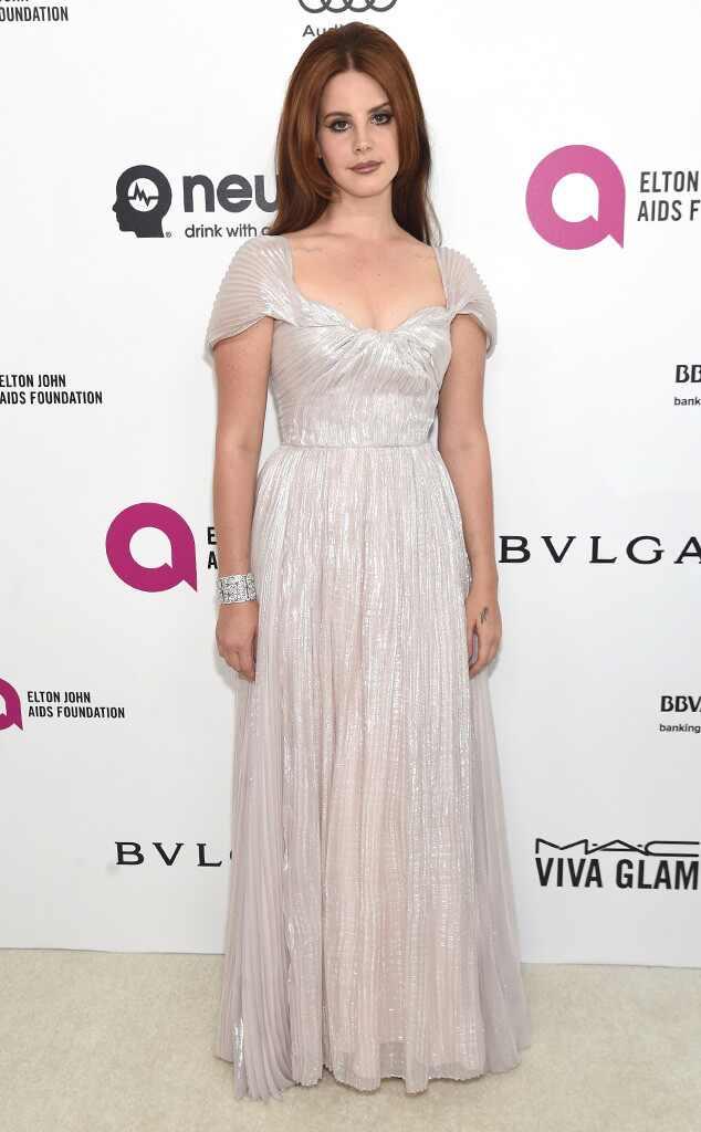 Elton John Oscars Party, Lana Del Rey