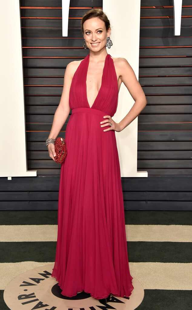 Olivia Wilde, 2016 Vanity Fair Oscar Party