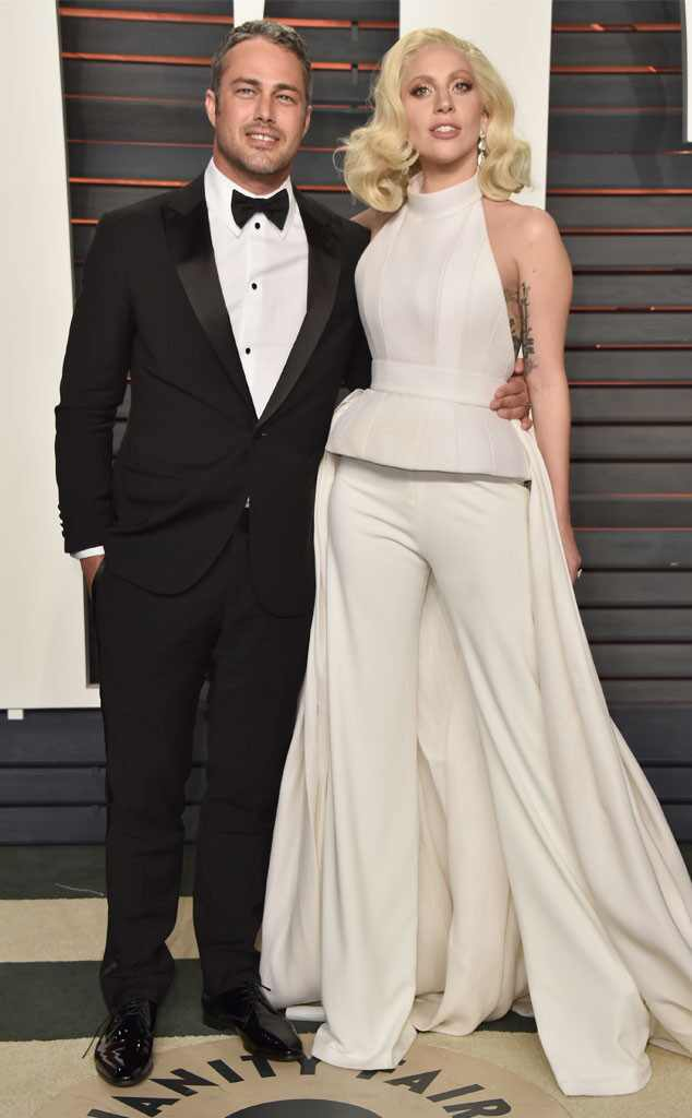Taylor Kinney, Lady Gaga, Vanity Fair Oscars Party
