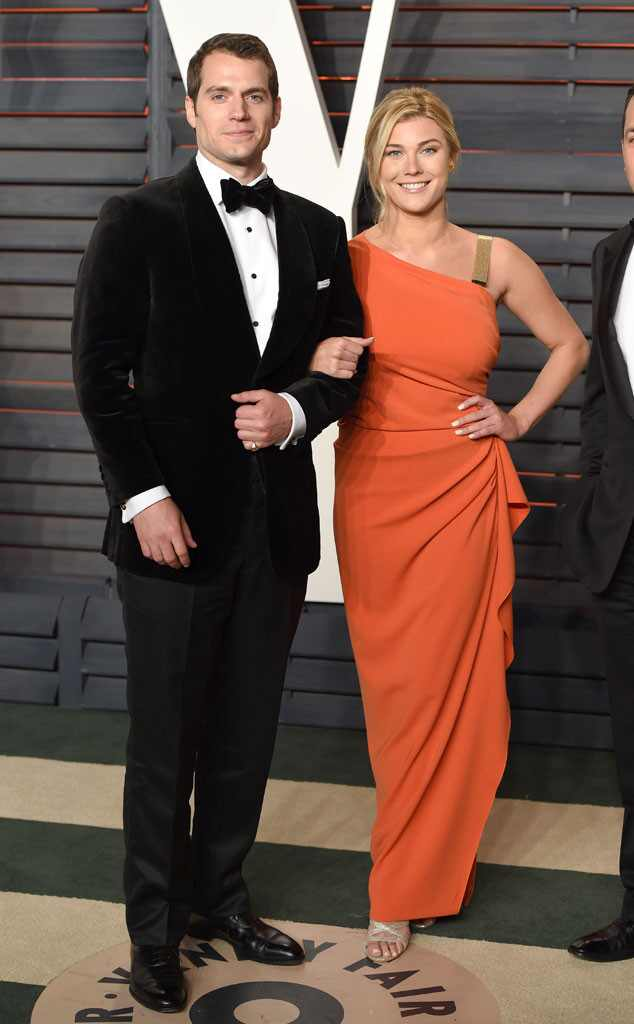 Henry Cavill, Tara King, Vanity Fair Oscars Party