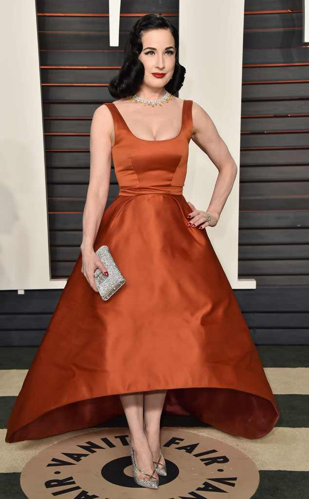 Dita Von Teese, Vanity Fair Oscars Party