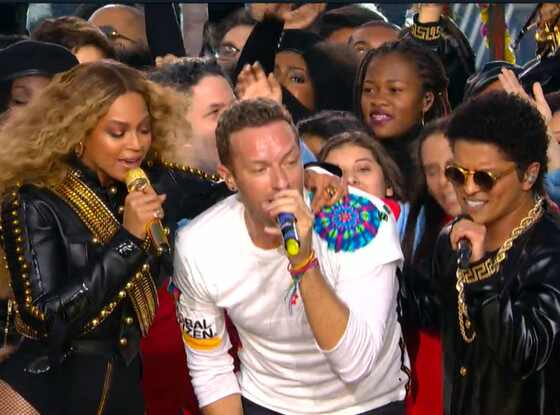 Beyonce, Coldplay, Bruno Mars, Super Bowl halftime show 2016