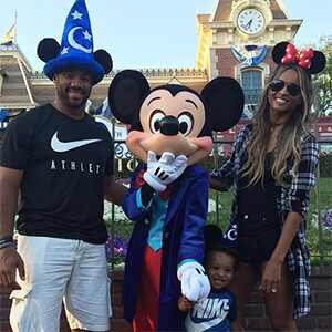 Ciara, Russell Wilson, Future, Disneyland