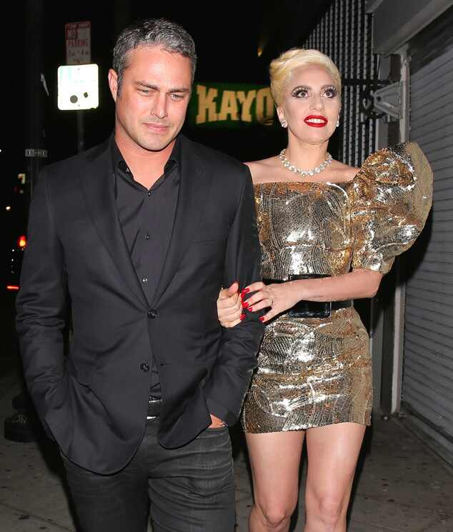 Lady Gaga Celebrates at 30th Birthday Party With Fiancé ...
