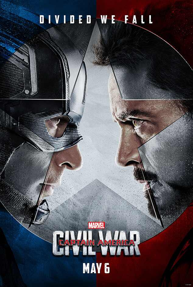 「captain america civil war poster」の画像検索結果
