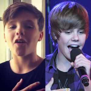 Cruz Beckham, Justin Bieber
