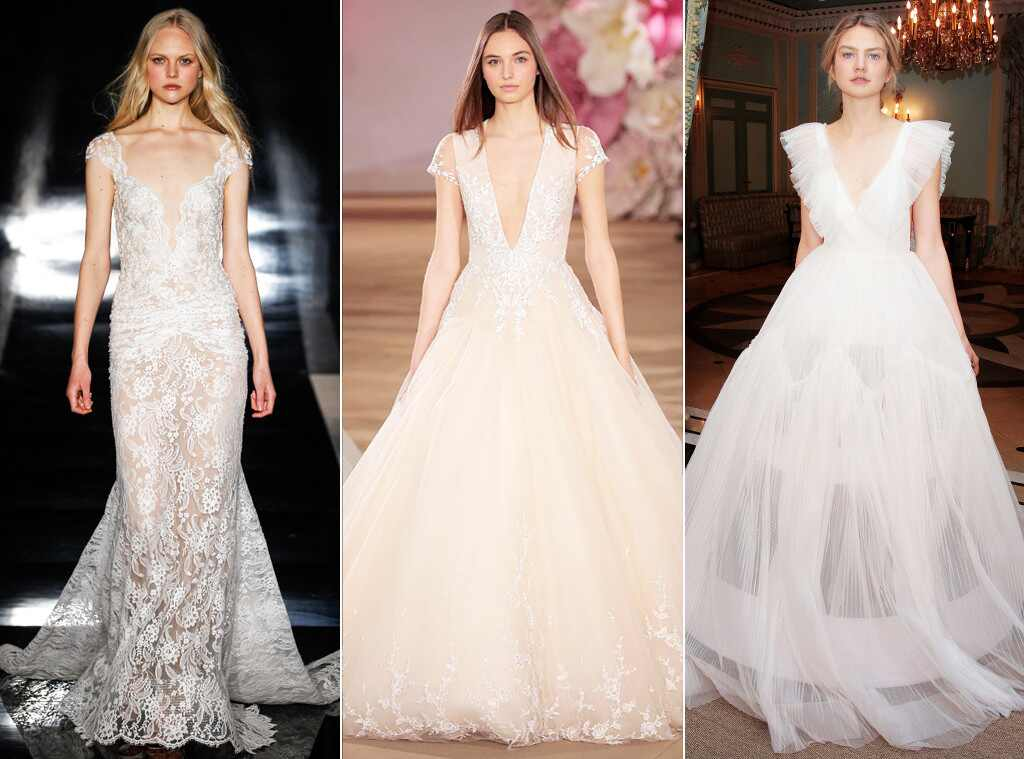 Simple Wedding Dresses 2017 Trends And Ideas: Bridal Fashion Week Spring 2017: The Best Wedding Gown