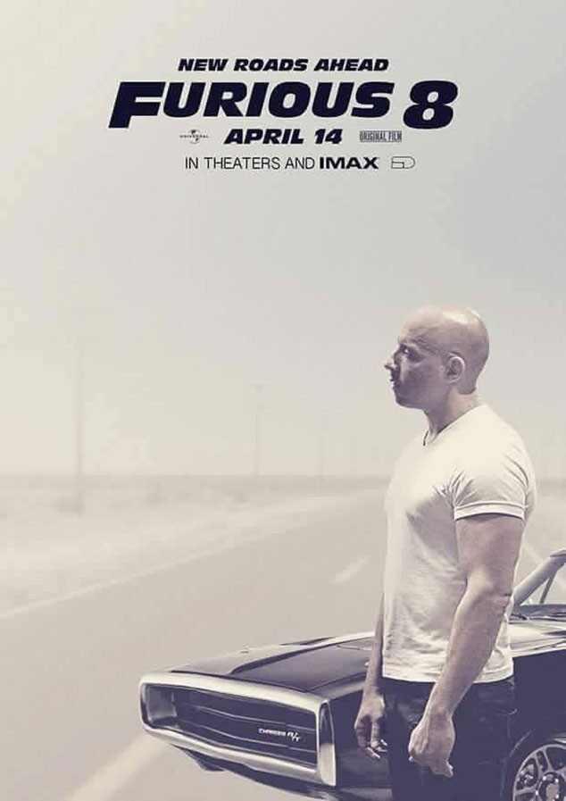 Vin Diesel, Fast & Furious 8