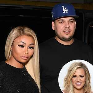 Rob Kardashian, Blac Chyna, Khloe Kardashian