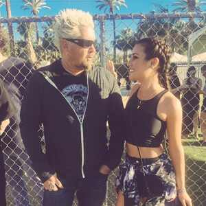 Lea Michele, Guy Fieri, Coachella, TBT