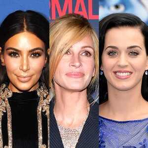 Kim Kardashian, Katy Perry, Julia Roberts