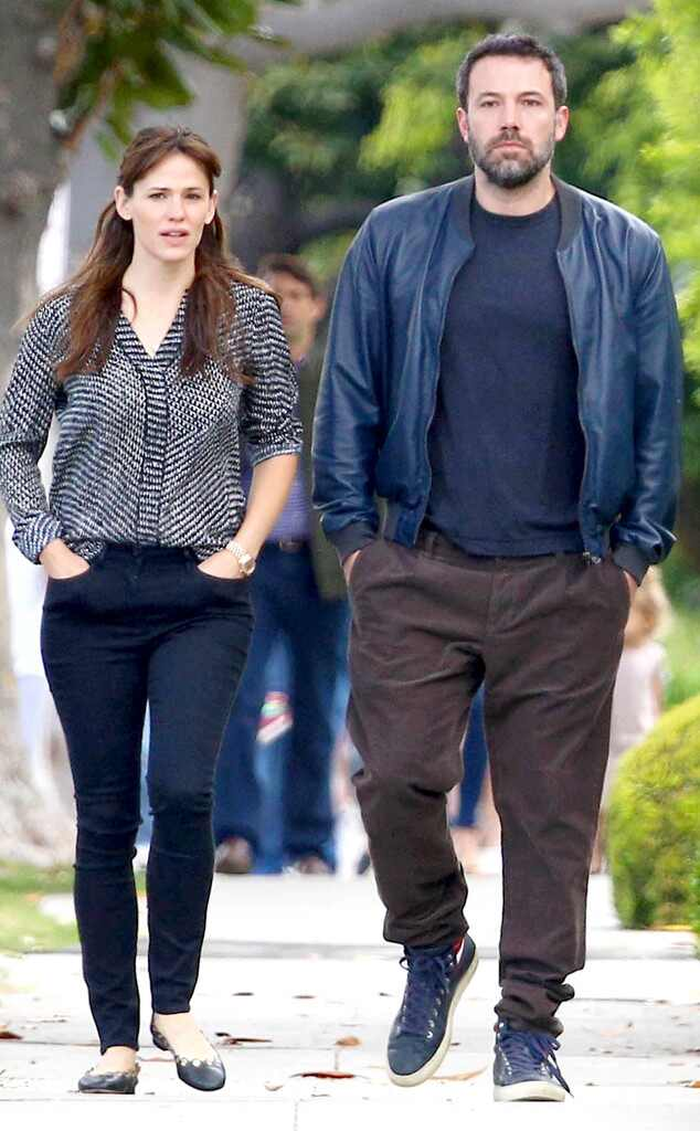 Jennifer Garner and Ben Affleck Split 1 Year Ago: A ...