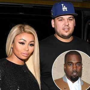 Rob Kardashian, Blac Chyna, Kanye West