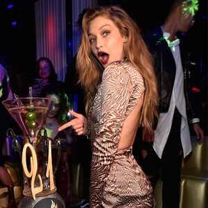 Gigi Hadid, 21st Birthday, Las Vegas
