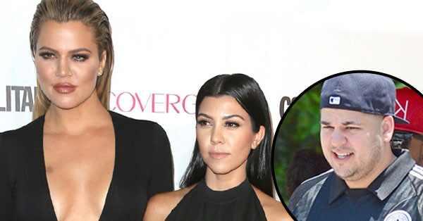 Kourtney Kardashian, Khloe Kardashian, Rob Kardashian