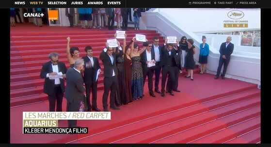 Aquarius, Festival de Cannes
