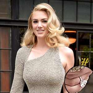 Kate Upton, Engagment Ring