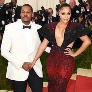 Carmelo Anthony, La La Anthony, MET Gala 2016, Arrivals