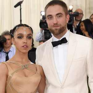 FKA Twigs, Robert Pattinson, MET Gala 2016, Arrivals