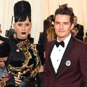 Katy Perry, Orlando Bloom, MET Gala 2016, Arrivals
