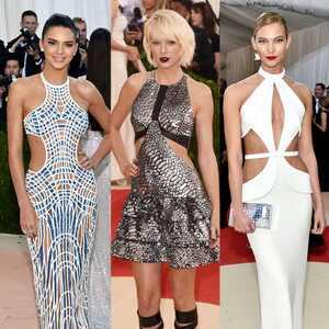 Kendall Jenner, Taylor Swift, Karlie Kloss, MET Gala 2016, Arrivals