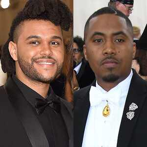 The Weeknd, Nas, MET Gala 2016