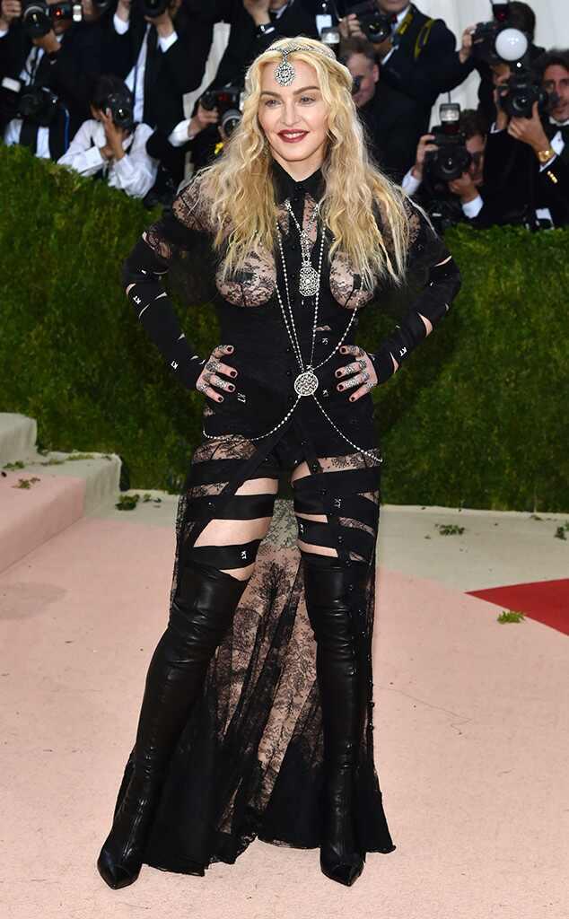 Met Gala 2016: Red Carpet Arrivals Madonna, MET Gala 2016, Arrivals