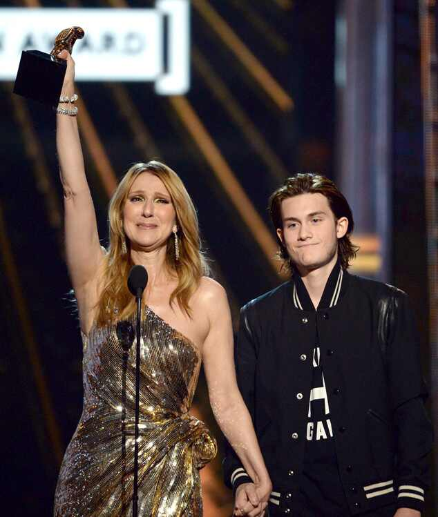 Celine Dion, Rene Charles Angelil, 2016 BIllboard Music Awards, show