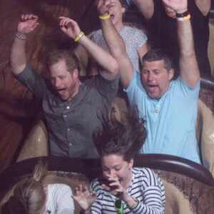 Prince Harry, Splash Mountain, Disneyland
