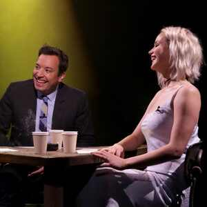 John Oliver, Jimmy Fallon, Jennifer Lawrence, The Tonight Show