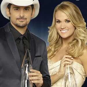 Carrie Underwood, Brad Paisley, CMA Awards 2016