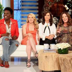Ghostbusters, Ellen Degeneres, Kate McKinnon, Leslie Jones, Kristen Wiig, Melissa McCarthy