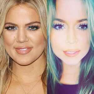 Khloe Kardashian, Face Swap