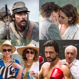 Edgar Ramírez, Joanna Lumley, Jennifer Saunders, Jesse Eisenberg, Kristen Stewart, Matthew McConaughey