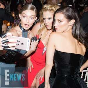 Gigi Hadid, Amy Schumer, Bella Hadid, MET Gala 2016, Inside Pics, Exclusive