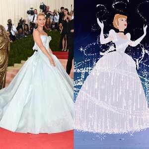 Claire Danes, Cinderalla, Met Gala, Disney