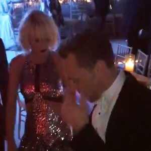Taylor Swift, Tom Hiddleston, dancing, 2016 Met Gala