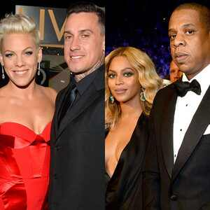 Pink, Carey Hart, Beyonce Knowles, Jay Z