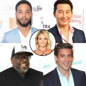 Kelly Ripa, Co-hosts, Jussie Smollett, Cedric the Entertainer, David Muir, Daniel Dae Kim