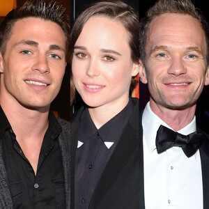 Colton Haynes, Ellen Page, Neil Patrick Harris
