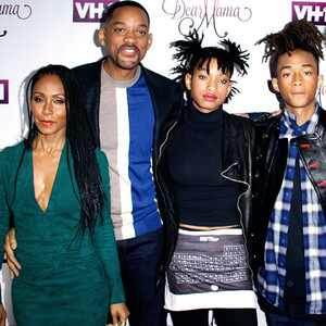 Jada Pinkett Smith, Will Smith, Willow Smith, Jaden Smith, Trey Smith