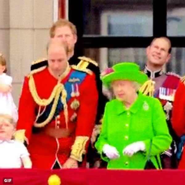 Prince William, Queen Elizabeth II