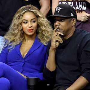Beyonce, Jay Z, 2016 NBA Finals