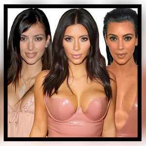 Kim Kardashian, Transformation