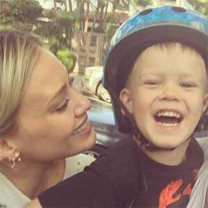 Hilary Duff, Son Luca
